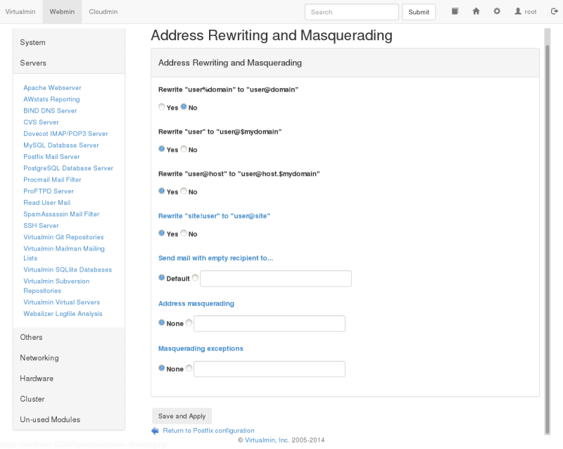 Address Rewriting and Masquerading
